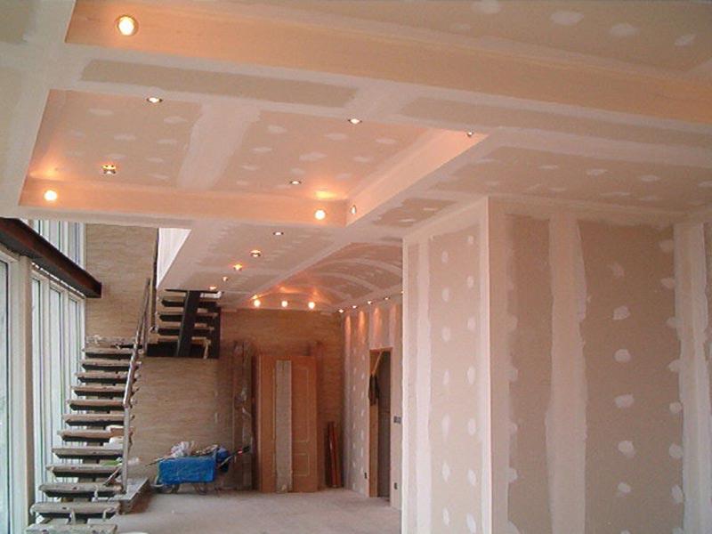Pregradni zidovi spu teni plafoni cena ideje rigips knauf - Como colocar pladur en techo ...